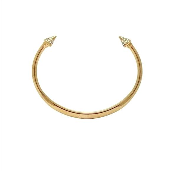 Vita Fede Jewelry - Vita Fede Cristiana Crystal Titan Bracelet Cuff